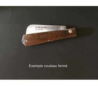 Couteau Îles du Salut - Boco Bicolore