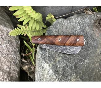 Couteau de Marin Damas, loupe d'Angélique
